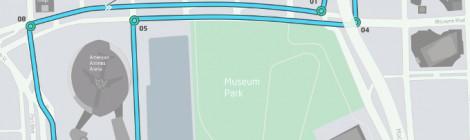 マイアミ ePrixでのサーキットレイアウトが公開