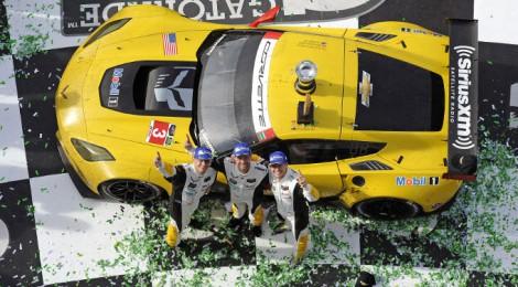 ガルシアはデイトナ24時間レースを制しました