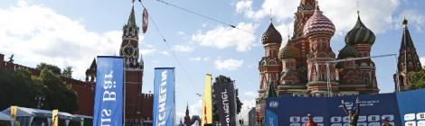美しい都市、夢のモスクワでの大会開催