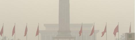 北京での大気汚染について