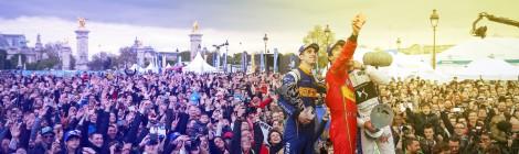 満員の観衆と表彰台での大喝釆は、フォーミュラEのスターから賞賛を得ます