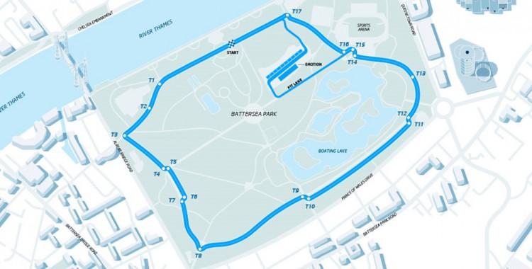 ROUND10 ロンドンePrix レースデータ
