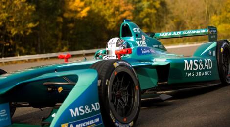 小林可夢偉選手、香港E-PrixにMS&AD Andrettiとして参戦