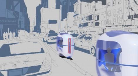 これが未来の都市交通機関?