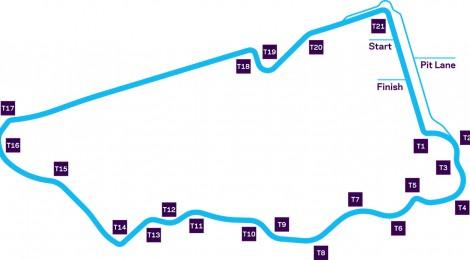 ROUND1 ディルイーヤ EPRIX レースデータ