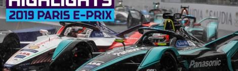 フォーミュラE 第8戦 パリ EPRIX 決勝ハイライト
