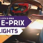 フォーミュラE 第13戦 ニューヨークE-PRIX 決勝ハイライト
