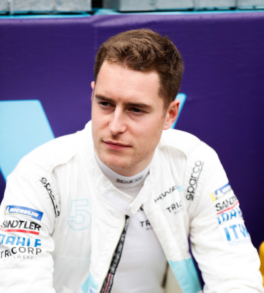 Stoffel Vandoorne (BEL), HWA Racelab, on the grid